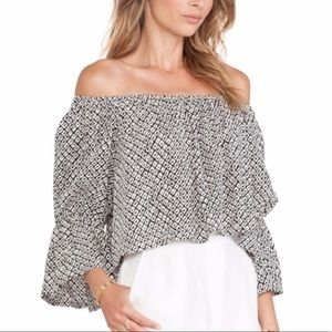 STONE COLD FOX OFF THE SHOULDER TOP
